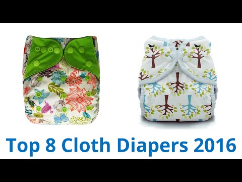 8 Best Cloth Diapers 2016