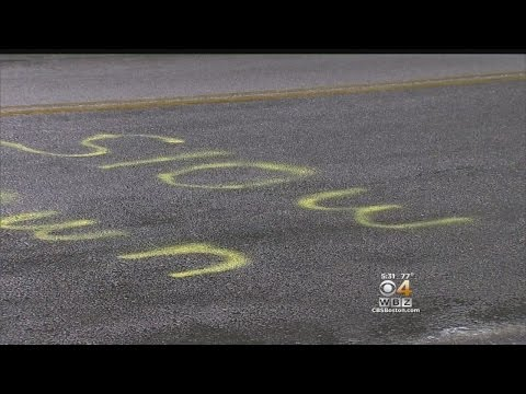 NH Resident Frustrated By Speeders Spray Paints 'Slow Down' On Road 13 Times