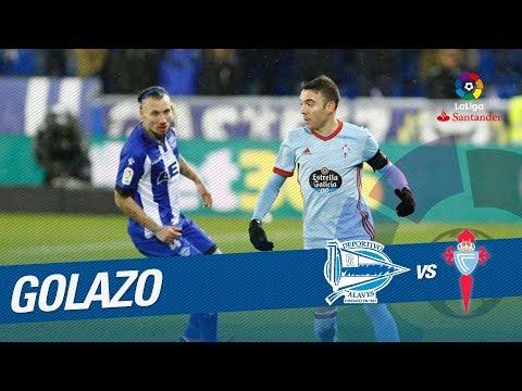 Golazo de Iago Aspas (2-1) Deportivo Alavés vs RC Celta