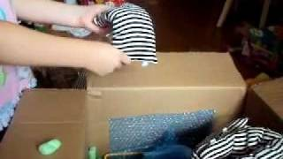 Me Opening My American Girl Doll Bunkbeds!!!!