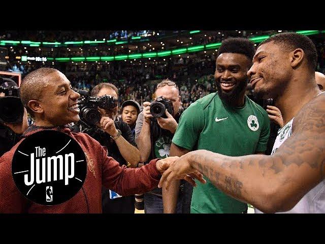 Isaiah Thomas-Celtics drama over? Too many tribute videos nowadays? | The Jump | ESPN