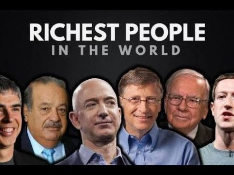 World top 5 richest man...family background... ((with her photos))
