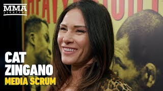 Cat Zingano On Pain From Eye Injury: 'I'd Have A Baby 10 Times Before I Do That Again'