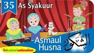 Asmaul Husna 35 As Syakuur bersama Diva Kastari Animation Official