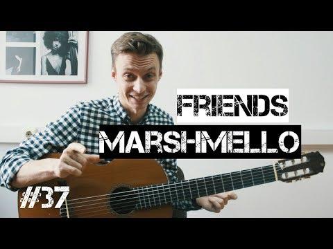 Как играть на гитаре friends