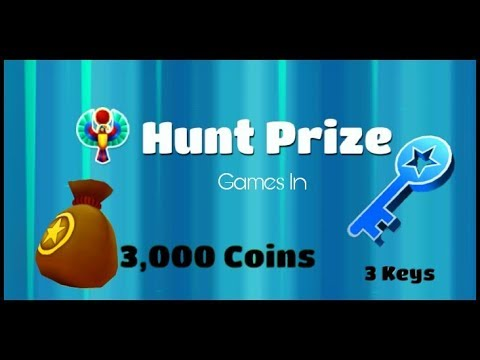 Cairo - Gift Box 3000 Coins & Hunt Prize 3 Keys - Games In