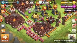 Attacco con soli domatori su clash of clans (mod)