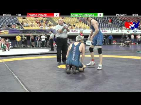 FSN 160: Trenton Ptacek (Oakes High School) vs. Anthony Gallegos (Team New Mexico)
