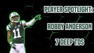 Player Spotlight: Robby Anderson 7 Deep TDs