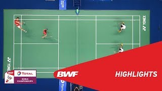 TOTAL BWF World Championships 2018 | Badminton MD - F - Highlights | BWF 2018