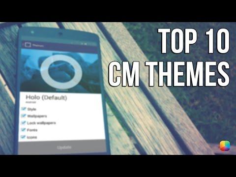 Top 10 CM (CyanogenMod) Themes