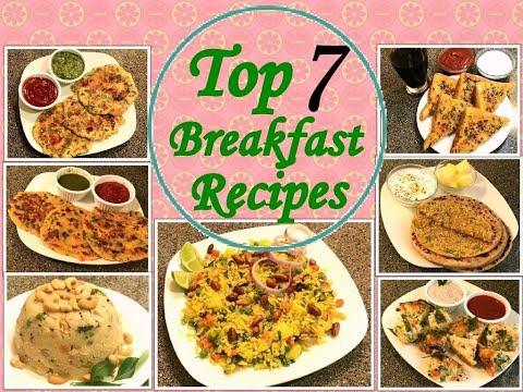 7 तरह की हेल्दी ब्रेकफास्ट रेसिपीज हिंदी में-7 Healthy Breakfast Recipes In Hindi