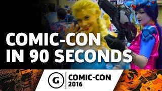 Inside Comic-Con 2016 In 90 Seconds