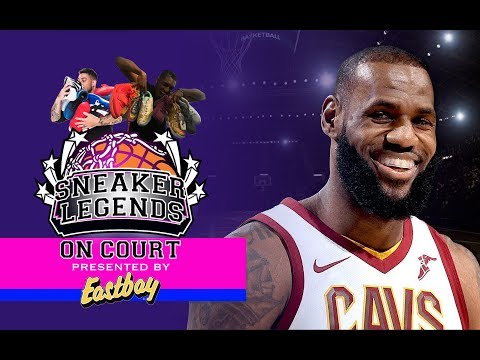 NBA All-Star Sneaker Talk with Team LeBron | Sneaker Legends