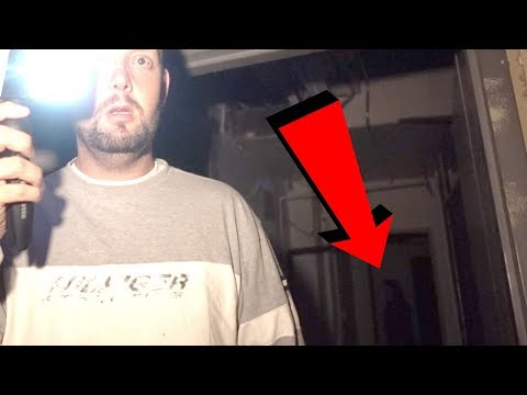 HAUNTED HOTEL BASEMENT AT 3AM - REAL GHOST APPEARS ON CAMERA!