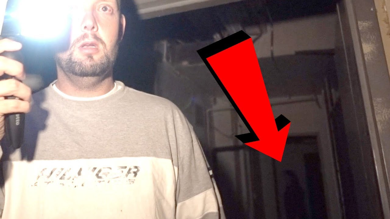 Haunted Hotel Basement At 3am Real Ghost Appears On