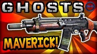 Call of Duty: Ghost 'MAVERICK' - BEST CLASS SETUP! (Assault Rifle) - COD Ghosts Gameplay