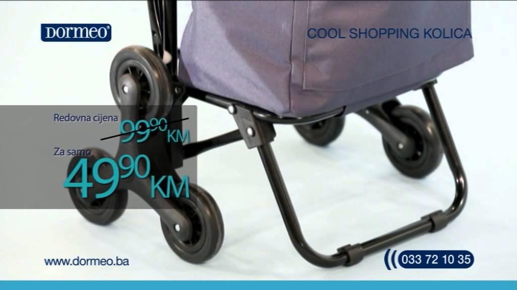 Dormeo shopping Cool kolica - YouTube