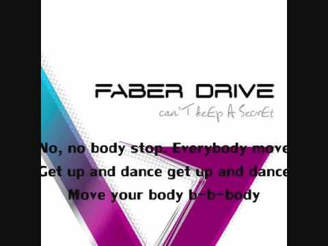 Faber Drive - G-Get Up And Dance - Lyrics