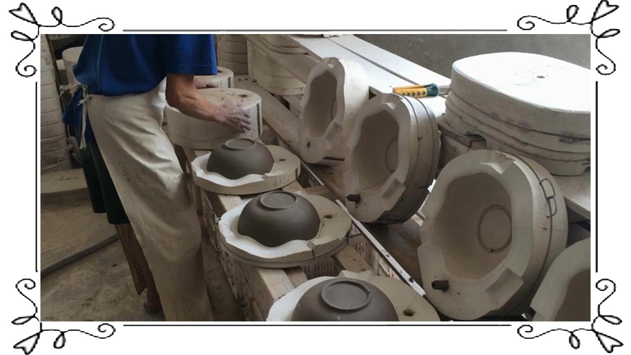 Mold Release Ceramics Manufacturing Process Youtube