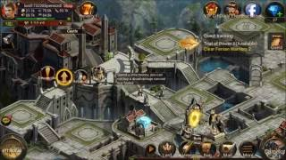 Legend of Kings - Arthur Age android game first look gameplay español