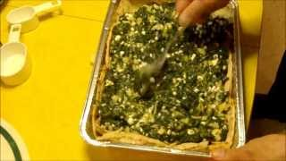 Mock Spinach Pie Casserole