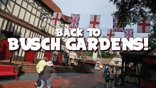 Busch Gardens Williamsburg is Back! Coasters and Craft Brews 2020!