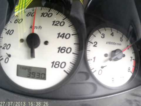 Mazda Familia S Wagon тест разгона до капиталки
