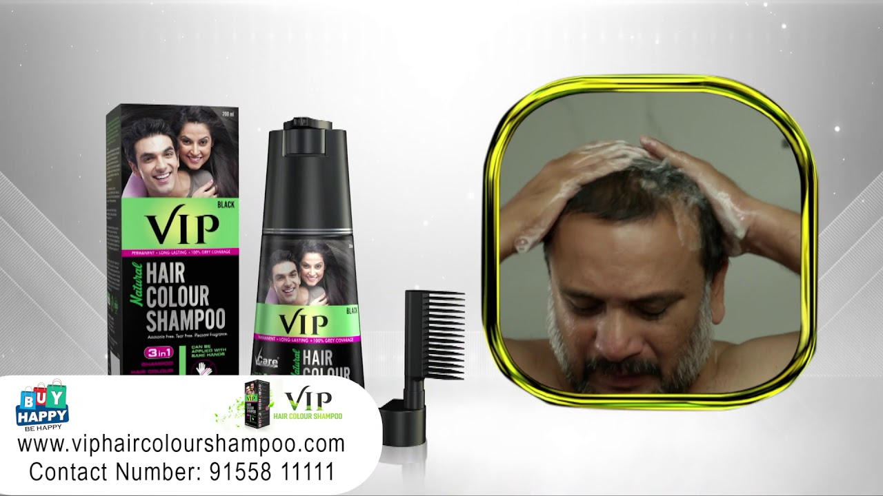 Vip Hair Colour Shoo Cob0390