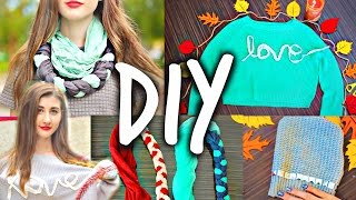 DIY For School: Cozy & Cute Fall DIY Clothes! Thumbnail