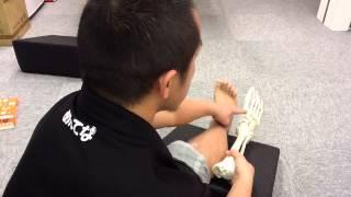 Repeat youtube video 【テーピング】足の甲の痛み(リスフラン関節)