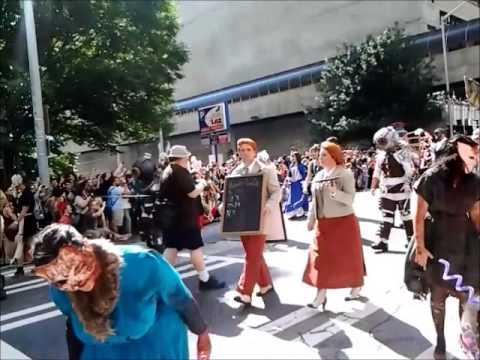 DRAGON CON Parade 2014 in Atlanta