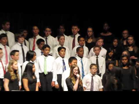 Crossroads North Middle School Presents: Men's and Women's Ensemble