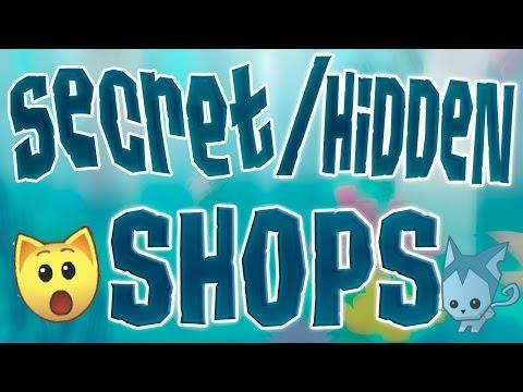 Animal Jam - 5 Secret/Hidden Shops