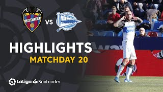 Highlights Levante UD vs Deportivo Alavés (0-1)