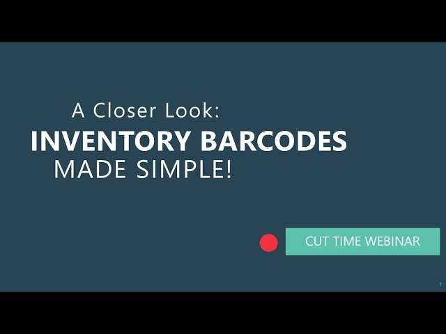 Manage your Inventory with Barcode Scanning