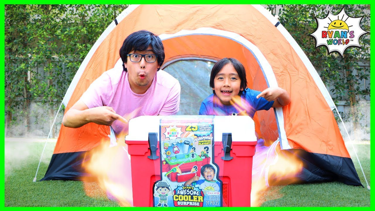 Download Ryan goes Camping with Daddy Pretend Play!