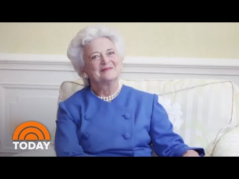 Former First Lady Barbara Bush Blamed President Donald Trump For Heart Attack | TODAY