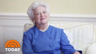 Former First Lady Barbara Bush Blamed President Donald Trump For Heart Attack   TODAY