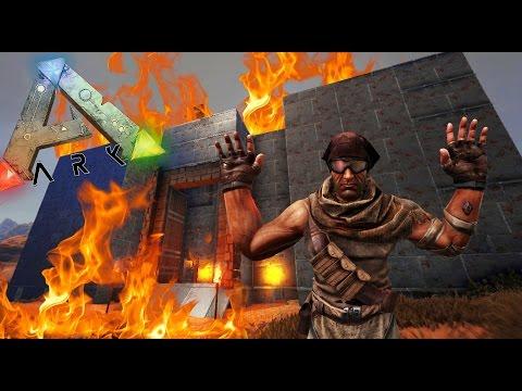 ARK - MI CASA ESTÁ QUE ARDE!!! :O - Scorched Earth #07 - NexxuzWorld