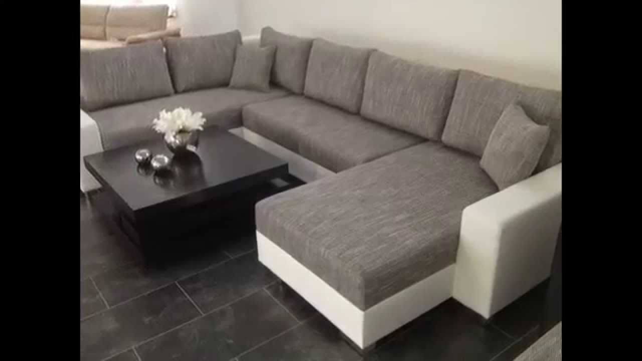Moderne Polstermöbel Sofa Couch Wohnlandschaften SOFA