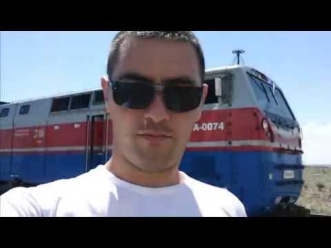 локомотивная бригада Сарыөзек