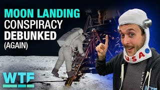 Moon landing conspiracy DEBUNKED (again) | What The Future