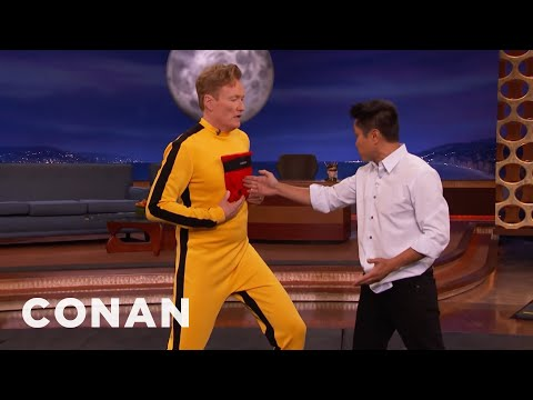 Steven Ho Hits Conan With Bruce Lee's One Inch Punch  - CONAN on TBS