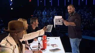 America's Got Talent 2016 Jon Dorenbos Philly Eagle Magician Full Judge Cuts Clip S11E08