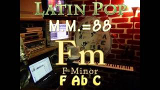 fm minor - one chord vamp - latin pop m.m.=88