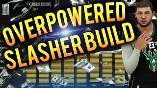 NBA 2K17 Tips: BEST SLASHER BUILD - HOW TO CREATE A 99 OVERALL UNSTOPPABLE SLASHER IN 2K17!