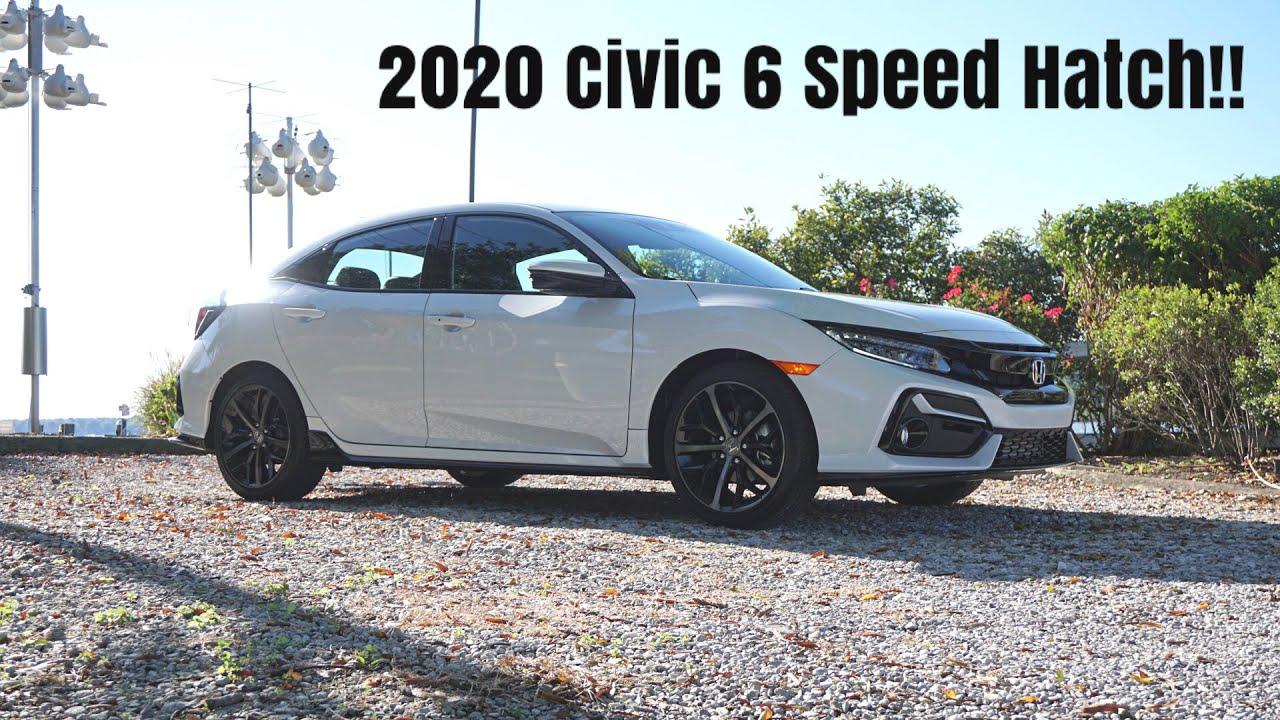 2020 Honda Civic Sport Touring Hatchback 6MT - It Gets BETTER!