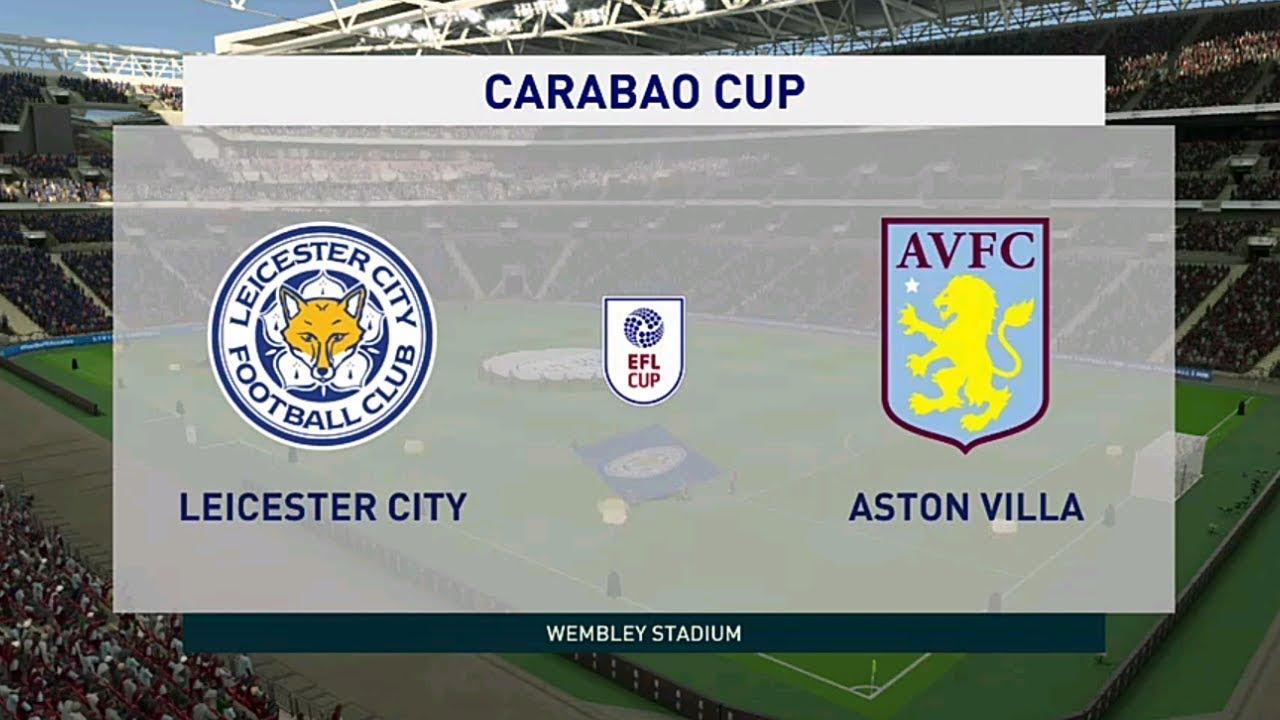 ⚽️ Leicester City vs Aston Villa ⚽️ | Carabao Cup (08/01 ...