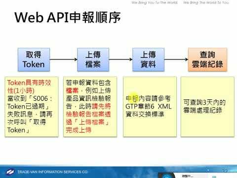 1061006非追不可Web API申報說明會(下) - YouTube